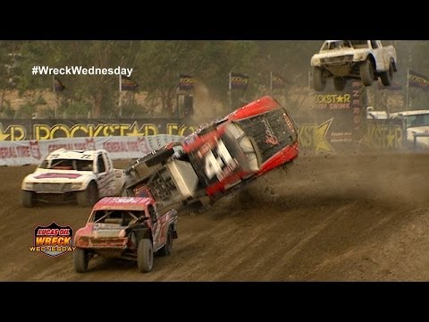 Off Road Driver KYLE HART ROLLS OVER 11-Times in Lake Elsinore, CA - WW #39
