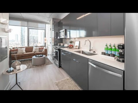 Tour a River North studio model at the new 3Eleven apartment tower