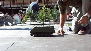 Olmedo Spain  City pictures : panzertreff Olmedo (Spain) 26-05-2012- video 7. M-113 porta TOW disparando