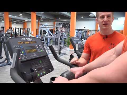 Life Fitness Fahrradergometer