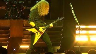 Megadeth - Dystopia (Live Premiere) - Las Vegas 2-26-16
