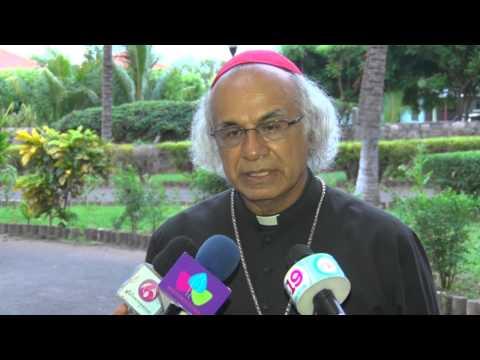 Cardenal Brenes llama a las familias formar valores y sin violencia a los niños para evitar el 'Bullying'