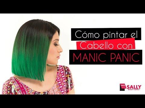 Cómo pintar el Cabello con MANIC PANIC