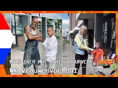 DE CRUSH VAN LIZA VAN DER MOST & HET KAPSEL VAN SHANICE VAN DE SANDEN  | ZAPPSPORT WK VROUWENVOETBAL