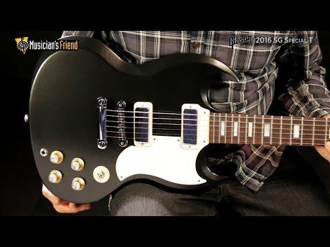 Gibson SG Special 2016 T Satin Vintage Sunburst