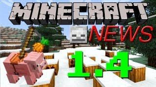 Minecraft News: 1.4 Release Date, Pig Mounts, Skulls,&More!