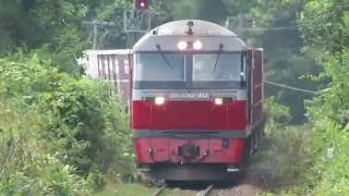 Download Lagu 夏の函館本線・東山駅 貨物通過('16/8/5) Mp3