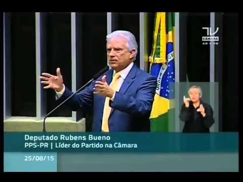 Em discurso, Rubens diz que, de tanta mentira, Dilma deve ter dupla personalidade