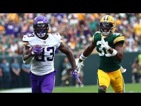 Dalvin Cook 75-Yard Touchdown! Kevin King Clutch Interception! Packers vs Vikings