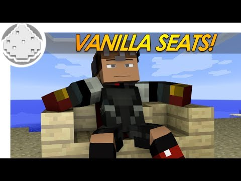seats - Ratings are appreciated, thanks! // Want more? http://bit.ly/SubLog SOMETIMES YOU JUST NEED TO TAKE A BREATHER! This sweet minecraft redstone tutorial will show you how to make seats in minecraft...