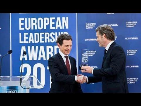 Ευρωπαϊκά Βραβεία Ηγεσίας: Τιμήθηκαν η καινοτομία και ο αγώνας κατά της διαφθοράς…