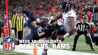 Bears vs. Rams | Week 10 Highlights | NFL