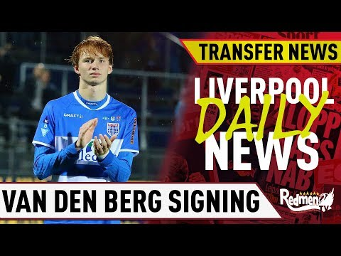 Liverpool Set To Sign Sepp Van Den Berg! | #LFC Daily Transfer News LIVE