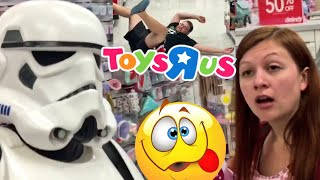 Heel wife and grim take the kids shopping for toys at toysrus and celebrate a family birthday party, as well as fun in a bounce house in this hilarious fun happy family daily vlog! fan mail addressgrims toy showpo box 371island heights nj 08732GTS SHIRTS AT http://www.prowrestlingtees.com/grimstoyshowGTS CHANNEL: https://www.youtube.com/watch?v=InsA0vtvSK8GRIMS TOY CHANNEL: https://www.youtube.com/watch?v=gaXIJukCHksMORE FUN AT OUR WEBSITE http://grimstoyshow.com/FOLLOW US ON TWITTER https://twitter.com/GrimsToyShow