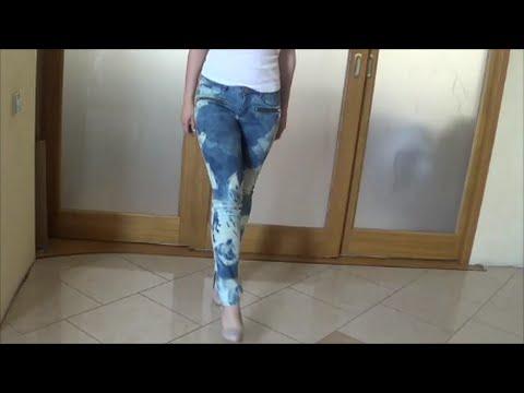 Отбелить джинсы в домашних условиях белизной