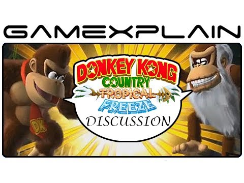 Tropical - http://www.GameXplain.com Reggie just confirmed at VGX that Cranky Kong is the 4th playable character in Donkey Kong Country: Tropical Freeze for the Wii U, ...