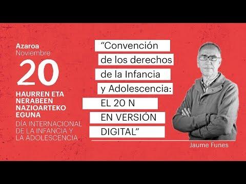 HITZALDIA | Jaume Funes, el 20N en versión digital