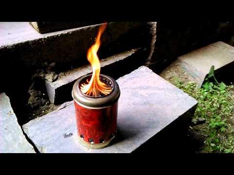 Походная пиролизная печка чертежи
