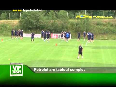 Petrolul are tabloul complet