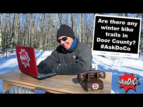 Are there any winter bike trails in Door County? #AskDoCo