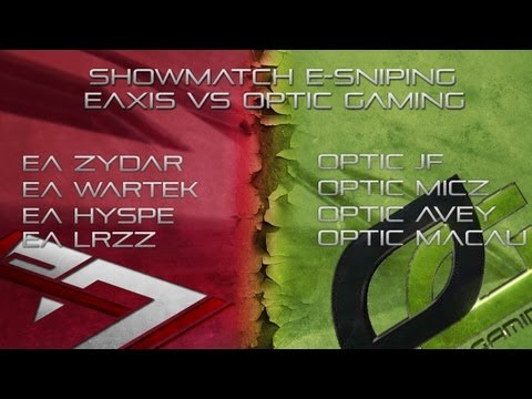Match e-Sniping | eAxis VS OpTicGaming