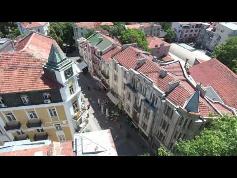 The Bulgarian City of Plovdiv in 4K