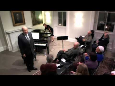 RosenbachMuseum - This is a recording of the first performance on January 18, 2012 at the Rosenbach Museum & Library. Since 1998, the Rosenbach Museum & Library has commission...