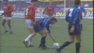 Lothar Matthäus gegen den AC Milan