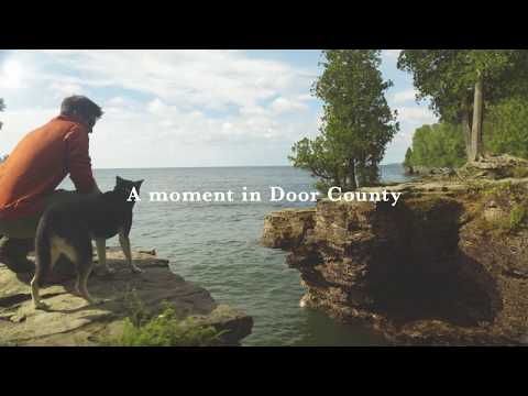 Door County Moment: Cave Point