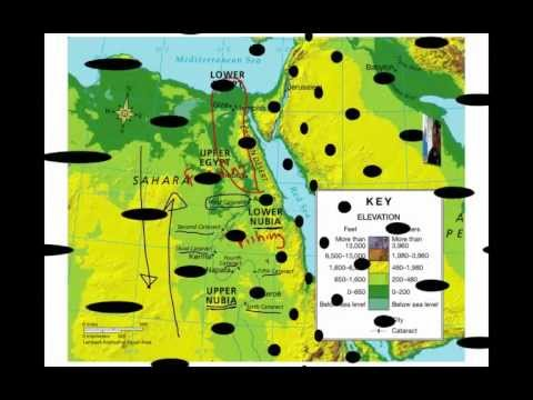 The Geography of the Nile River