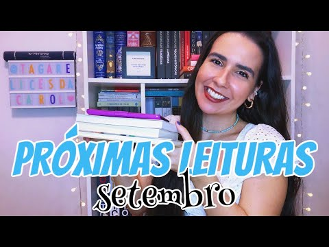 METAS LITERÁRIAS (TBR) | SETEMBRO 2020 ? | Ana Carolina Wagner