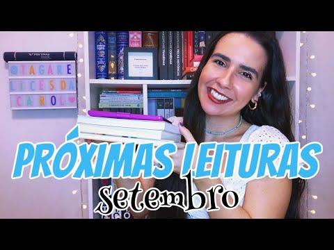 METAS LITER�RIAS (TBR) | SETEMBRO 2020 📚 | Ana Carolina Wagner