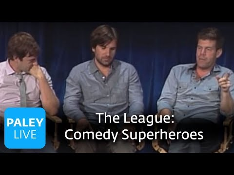 The League - The Justice League of Comedy Superheroes