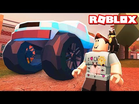ROBLOX JAILBREAK MONSTER TRUCK