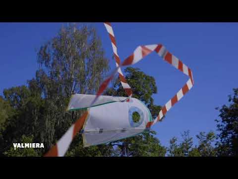 Lidojoša pūķa gatavošana Valmieras 737.dzimšanas dienai