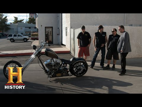 Counting Cars: Ultimate Champions Customized Poker Bike (Season 8, Episode 10) | History