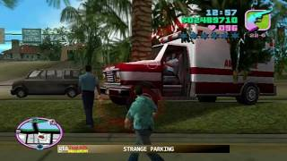 GTA Vice City BUGS & GLITCHES in Watts Zap style HD