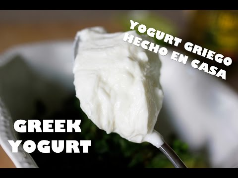 Como Hacer Yogurt Griego Light En Casa Y 2 Recetas Rapidas / Homemade Greek Yogurt