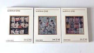 Unboxing Wanna One 워너원 - 3rd Mini Undivided 1÷x=1