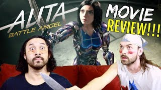 ALITA: BATTLE ANGEL - MOVIE REVIEW!!! by The Reel Rejects