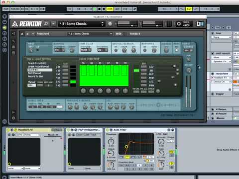 Bluewater VST's Introduction to Native Instruments REAKTOR's Resochord