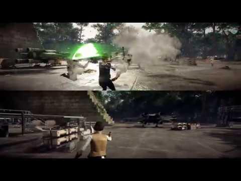 STAR WARS Battlefront II - Аркада: Совместная Игра: Сценарии Битв - Светлая Сторона (все битвы)