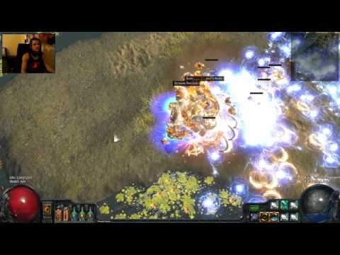 screen - At a certain point your screen stops shaking because it's in a perma state of slfhkdklfhldkfhnmdlkfhndfmhlkdfh. I love that you can do shit like this in this game. http://www.pathofexile.com/foru...