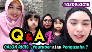 Video Q & A w/ RICIS dan SHINDY | Oki Setiana Dewi | #OSDVLOG16 MP3, 3GP, MP4, WEBM, AVI, FLV September 2018