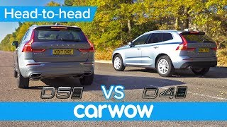 Volvo XC60 D5 vs D4 - is the extra power worth the extra cash or should you spend it elsewhere?