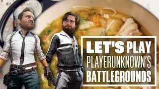 Let's Play PUBG gameplay with Ian and Johnny - DOUBLE DARE!