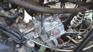 10. Adjusting the valves on the $500 Arctic Cat