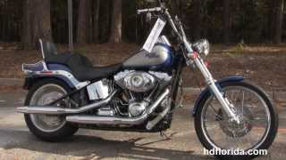 7. 2009 Harley Davidson Softail Custom  - Used Motorcycle for sale