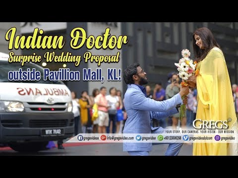 Video Indian Doctor Surprise Wedding Proposal in PUBLIC !! MOST ROMANTIC EVER download in MP3, 3GP, MP4, WEBM, AVI, FLV January 2017