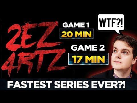 Reddit wtf - EG vs NEWBEE - WTF JUST HAPPENED?! Fastest Series Ever in a Major? Dota 2